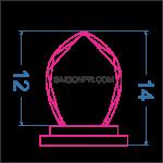 Kỷ niệm chương giọt nước KNC_GN_B