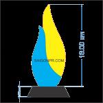 Kỷ niệm chương ngọn lửa KNC_NL_B